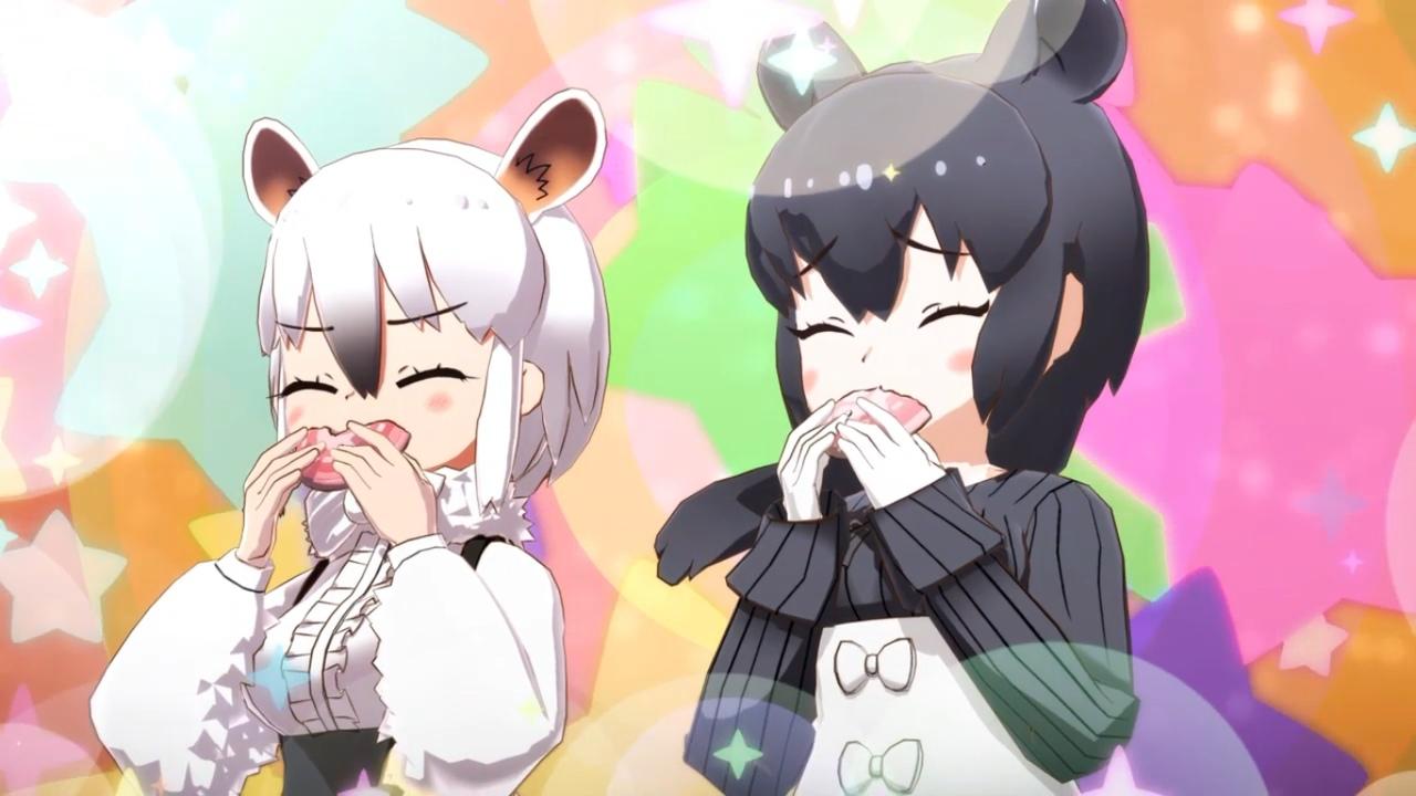 Ушастые Друзья 3 / Друзья-зверушки 3: Короткое аниме   Kemono Friends 3 [1-7 серии (END)]