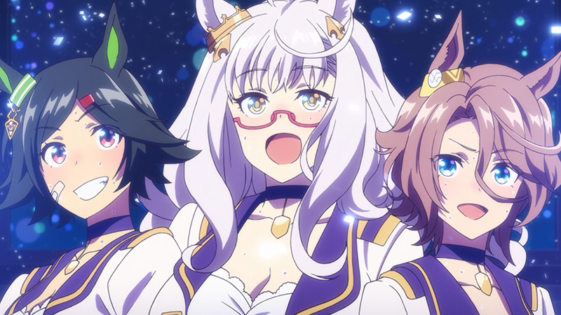 Девушки-пони: Славное дерби — Спецвыпуски / Uma Musume: Pretty Derby — BNW no Chikai [1-3 (END)]