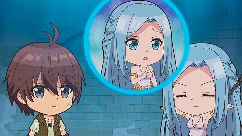 Сильнейший герой, обученный в тайном подземелье! Мини-аниме / Doki Doki! Mini Mini! Kakushi Dungeon Gekijou [1/?]