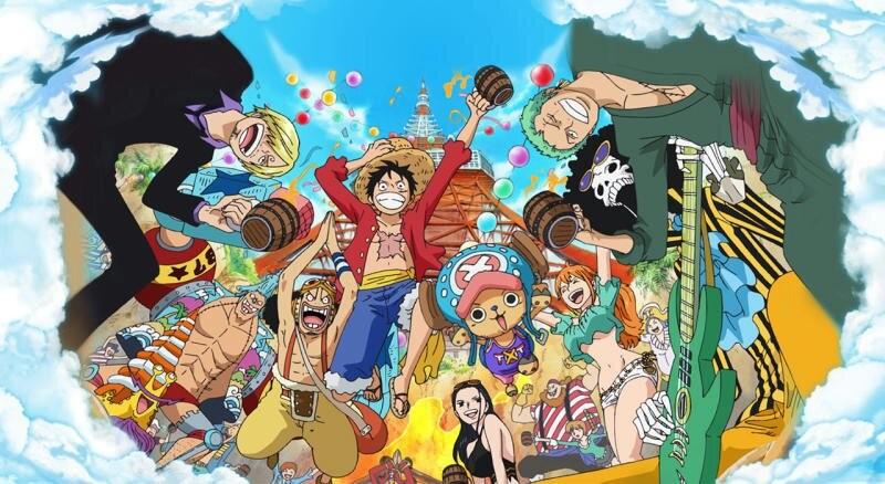 Ван-Пис на токийской телебашне: Сокровище острова Тонгари / Tokyo One Piece Tower: Tongari Shima no Dai Hihou