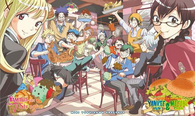 Ямада-кун и семь ведьм + Хулиган и очкастая — Спешл / Yankee-kun na Yamada-kun to Megane-chan to Majo — Special